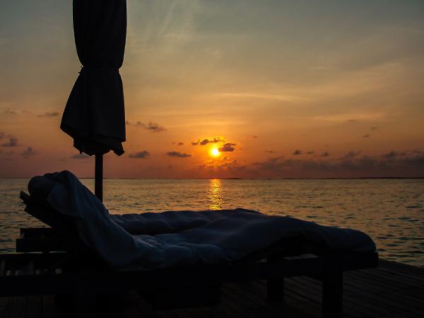 Мальдивские острова. закат3