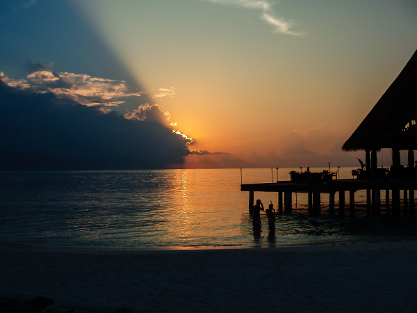 Мальдивские острова. закат2