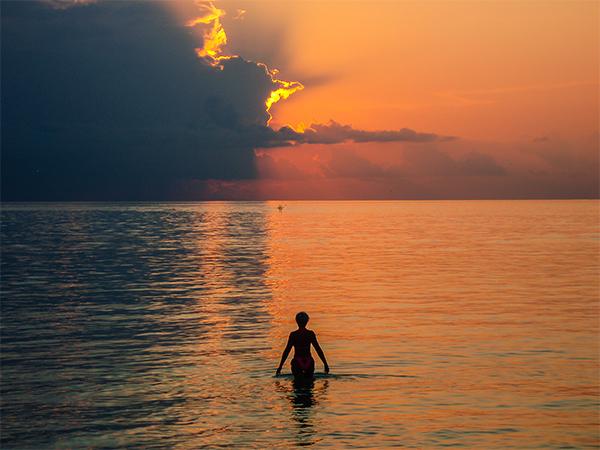 Мальдивские острова. закат1
