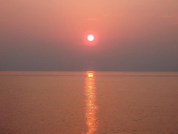 Мальдивские острова. закат