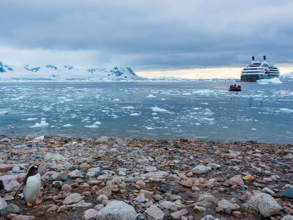антарктида, закат