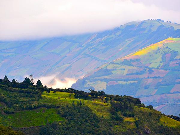 Эквадор. Анды. Баньос. закат2