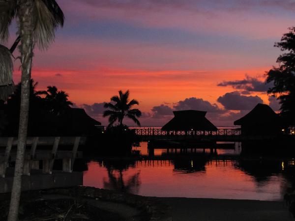 Французская Полинезия, закат