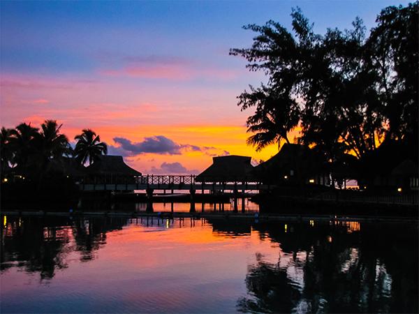 Французская Полинезия, закат1