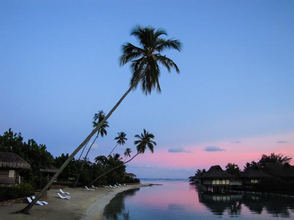 Французская Полинезия, закат2