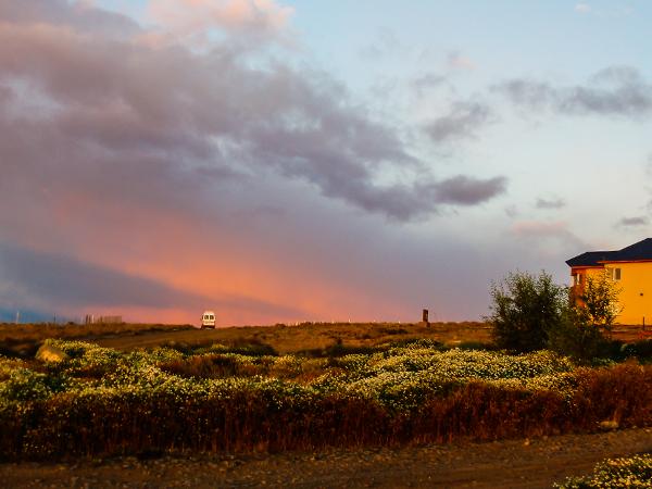 Аргентина. Патагония.закат
