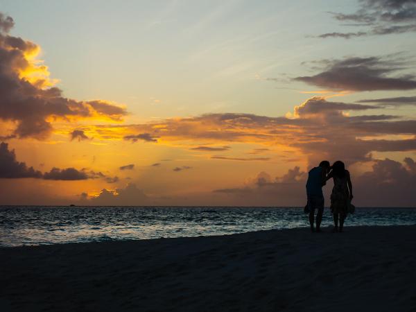 Мальдивские острова. закат5