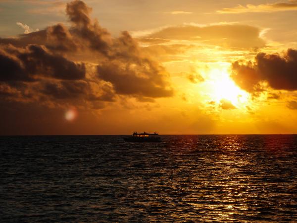 Мальдивские острова. закат4