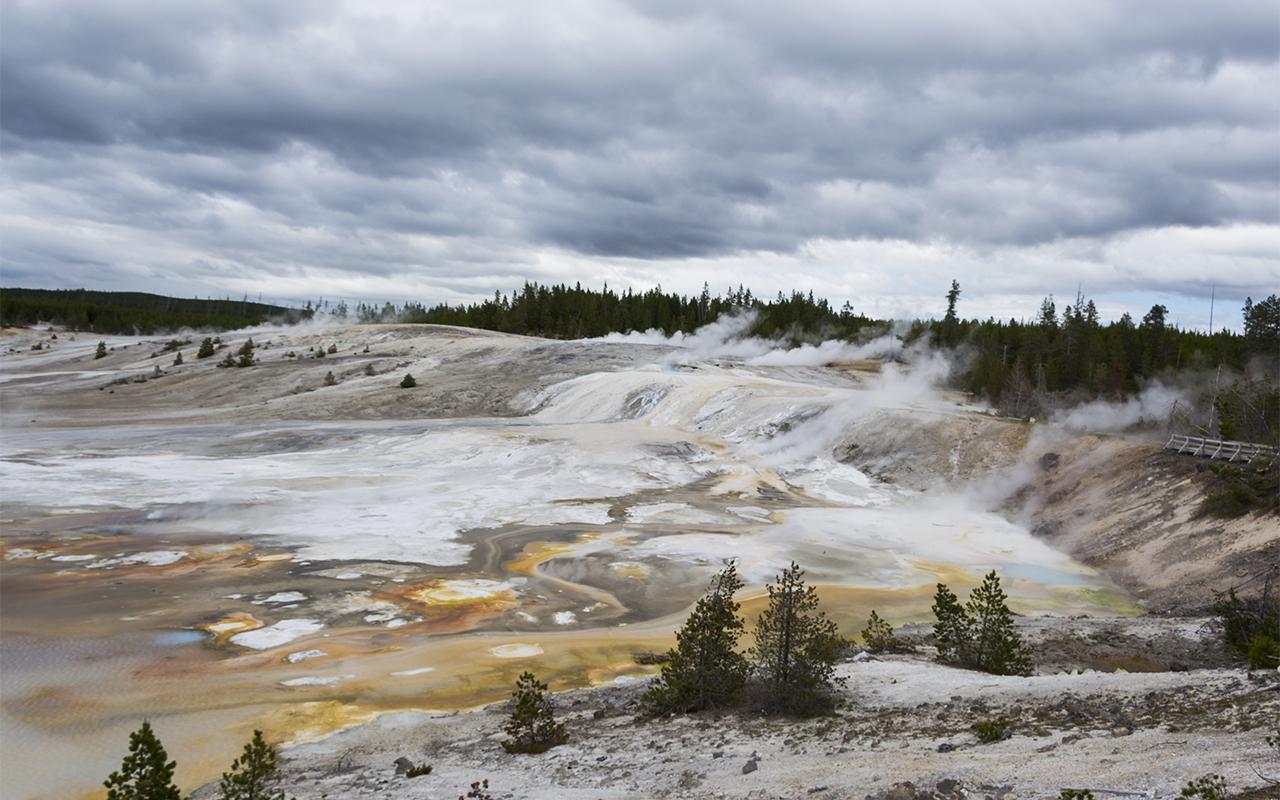 америка Yellowstone 1