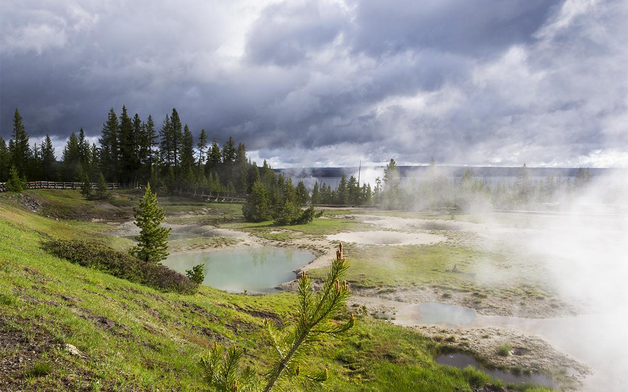 америка Yellowstone 7