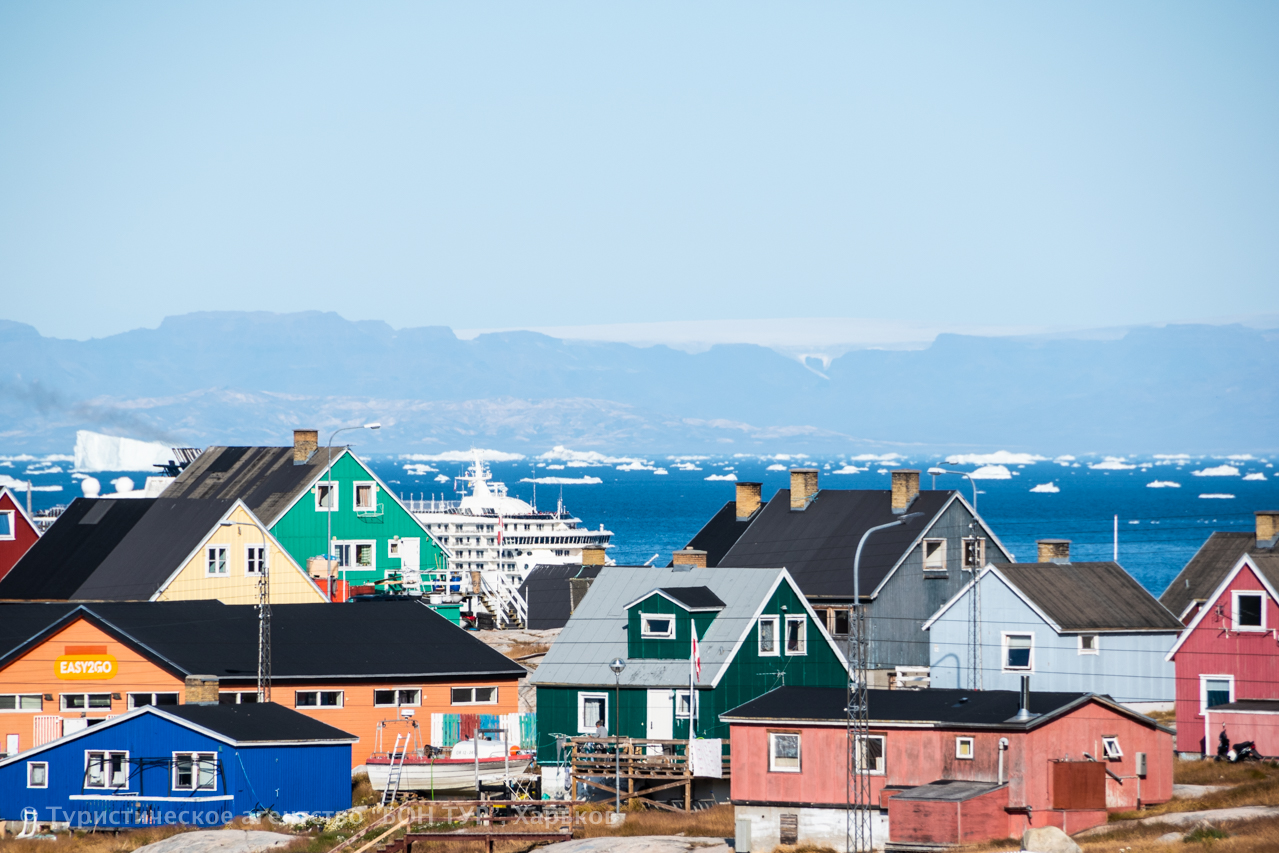 Гренландия-круиз-Disko Bay-Ледник Эки-3