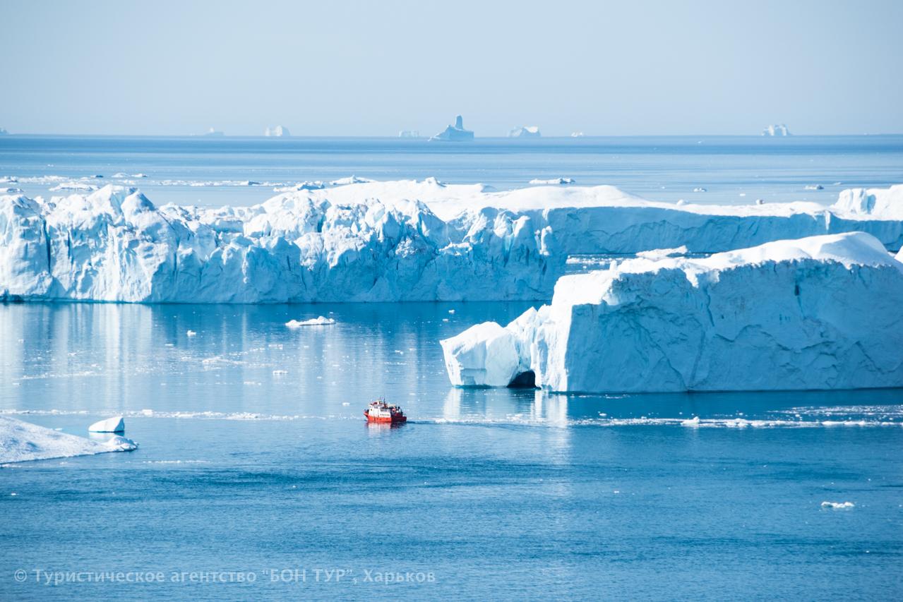 Гренландия-круиз-Disko Bay-Ледник Эки-4