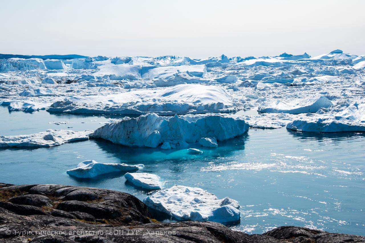 Гренландия-круиз-Disko Bay-Ледник Эки-5